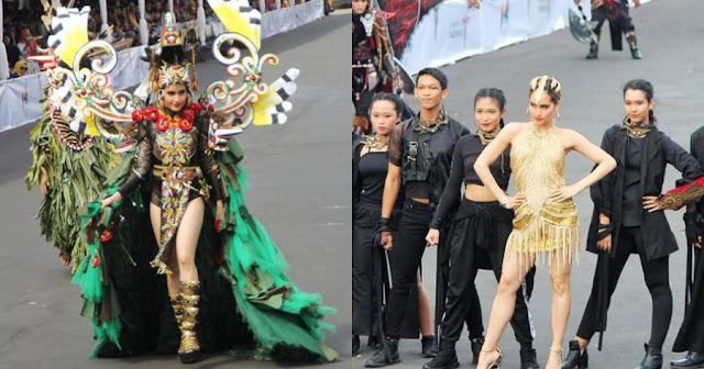 Tampil di Jember Fashion Carnaval, Cinta Laura Tuai Kecaman dari MUI