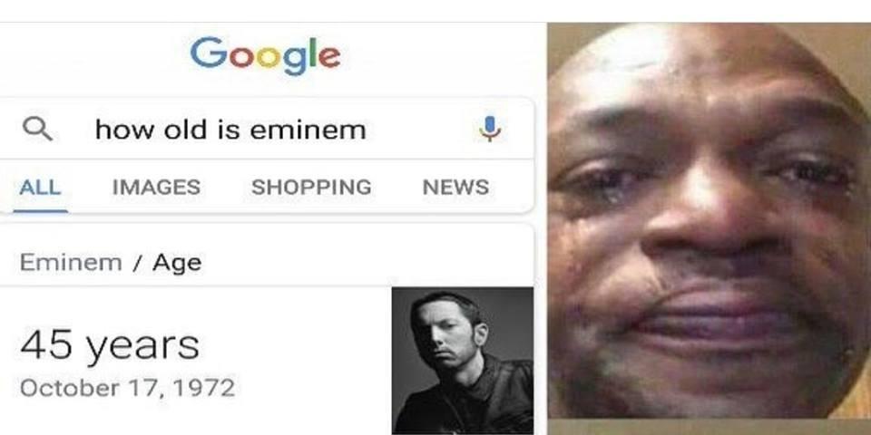 eminem age google search