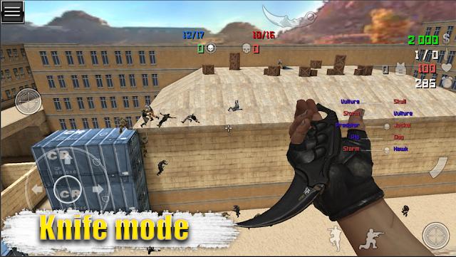 Game FPS Offline Ukuran Kecil Special Forces Group 2 Mod Apk