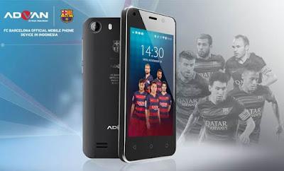 Smartphone Advan Barca S4X
