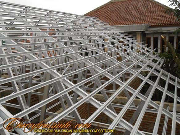 rangka atap baja ringan,atap baja ringan,rangka baja