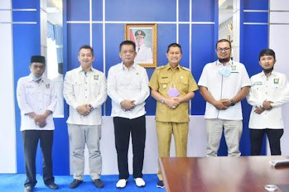 Jelang Muscab Ke-V, F-PKB DPRD Kunjungi Sejumlah Unsur Forkopimda dan Ketua PCNU Inhil