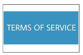 Cara Membuat Terms Of Service untuk Blog