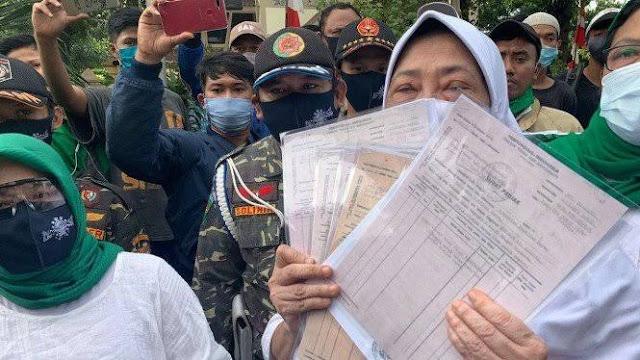 Ganti Rugi Tanah Tak Dibayar, Banser NU Geruduk Podomoro Land Grogol