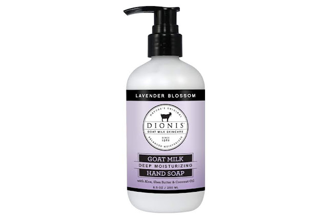 Lavender Blossom Goat Milk Hand Soap by Dionis