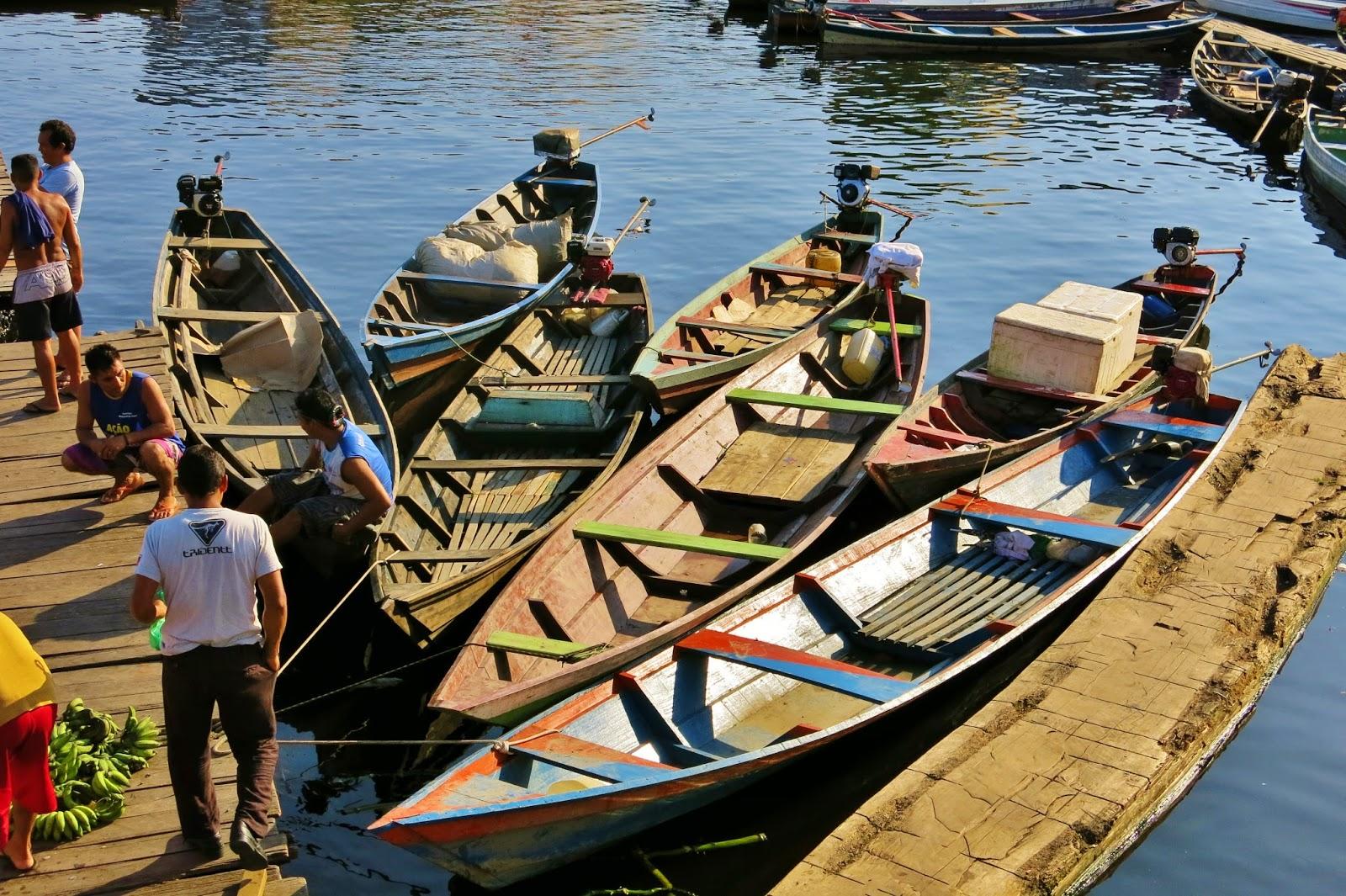 Movimentação no Porto de Coari