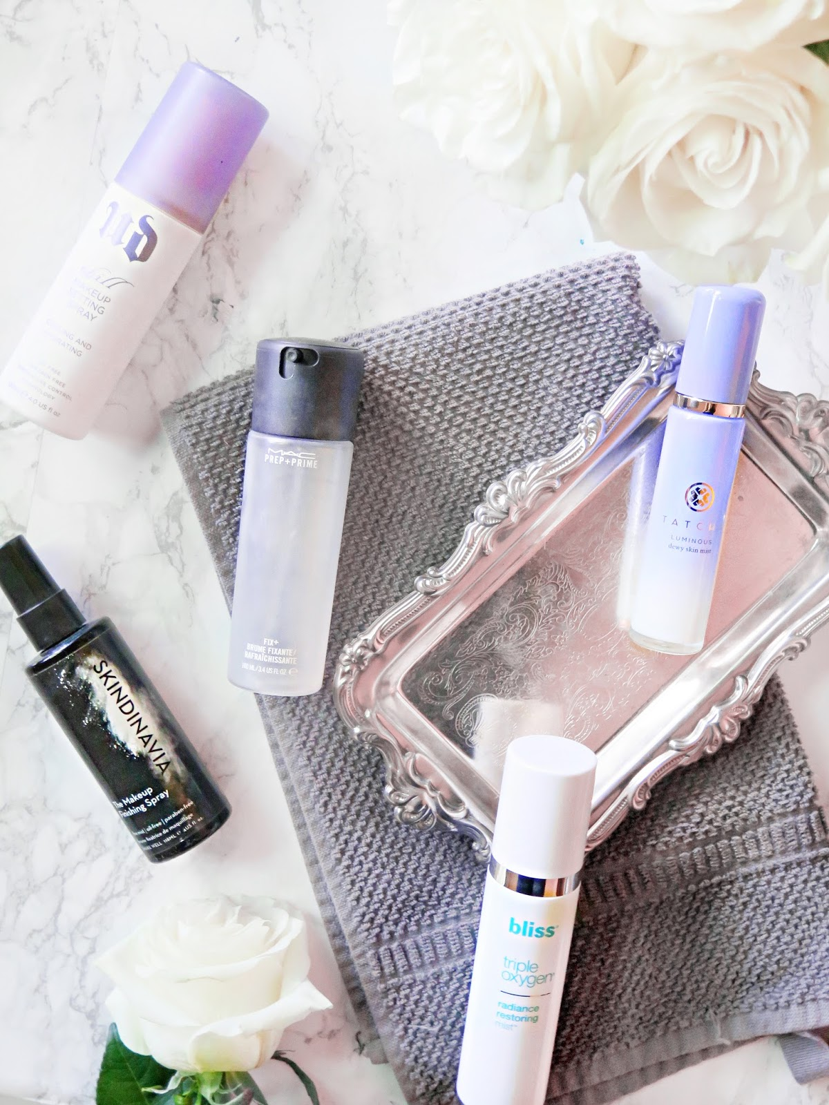 Freshly Set | Top 5 Must Have Makeup Setting Mists & Facial Sprays | Review & Comparisons | labellesirene.ca