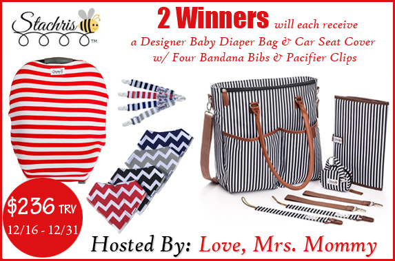 Stachris Travel with Baby Prize Bundle Giveaway! Ends 12/31