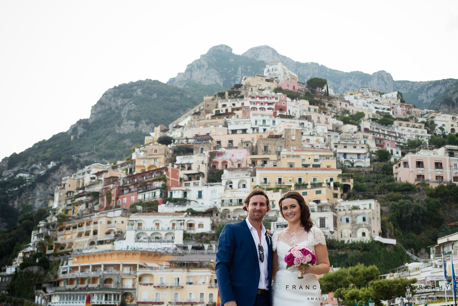 Wedding portraits in Positano