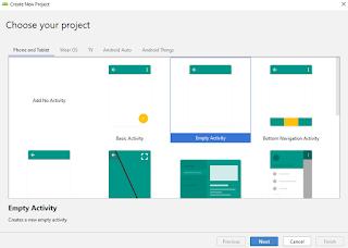 Cara Membuat Project Baru Android Studio