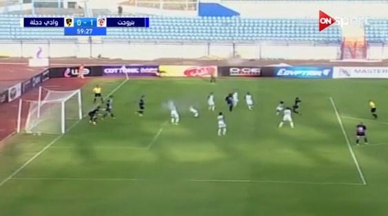 اهداف مباراة  بتروجيت ووادي دجلة 2019-02-05 الدوري المصري
