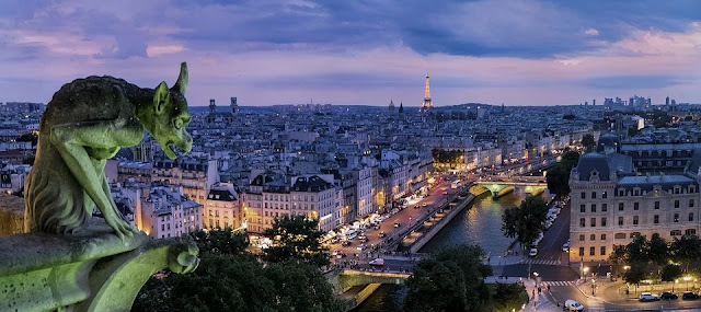 Parigi-gargoiles-Notre-Dame