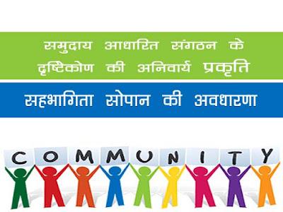 समुदाय आधारित संगठन (सीबीओ) दृष्टिकोण की अनिवार्य प्रकृति |सहभागिता सोपान की अवधारणा |Essential Nature of the Community Based Organization (CBO) Approach