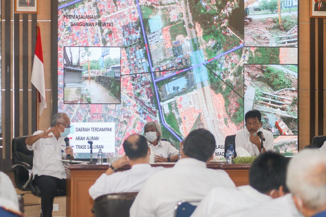 Pemko dan BP Batam Sepakat Tangani Masalah Banjir Akibat Curah Hujan Tinggi