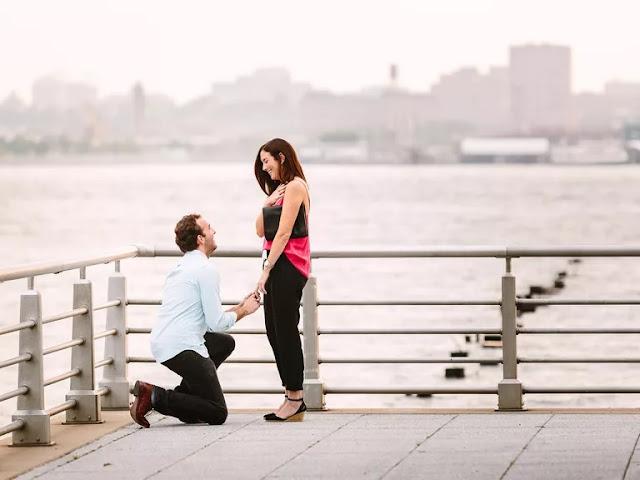 yılbaşında evlenme teklifi