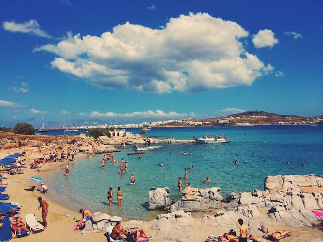 Praia Kolymbithres, Paros