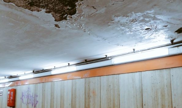 Viaggio nel degrado della Metro di Roma