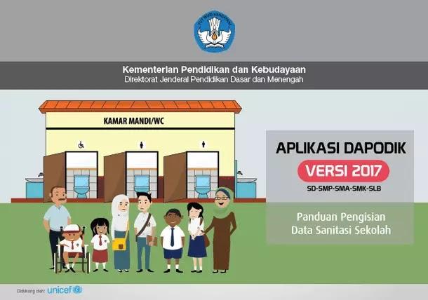 Panduan Pengisian Data Sanitasi Sekolah Pada Aplikasi Dapodik 2017