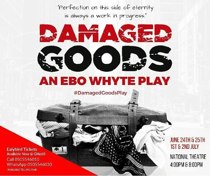 Uncle Ebo Whyte readies new play, 'Damaged Goods'
