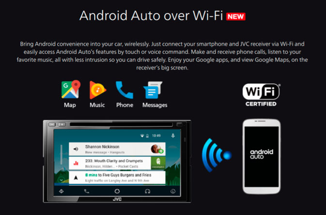 Android P smartphones will support Android Auto Wireless