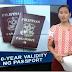 GoodNews: Passport na may 10 year validity nagsimula nang maglabas ang DFA