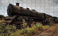 Old rusty train