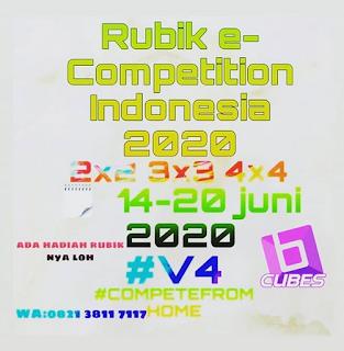 Kompetisi rubik online di Indonesia yang disponsori oleh Balam Cubes