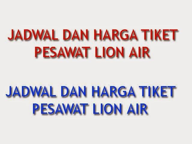 Jadwal Dan Harga Tiket Pesawat Lion Air Jakarta Surabaya 28 Desember