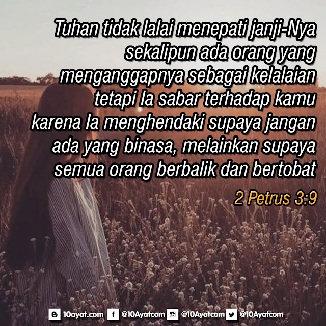 2 Petrus 3:9