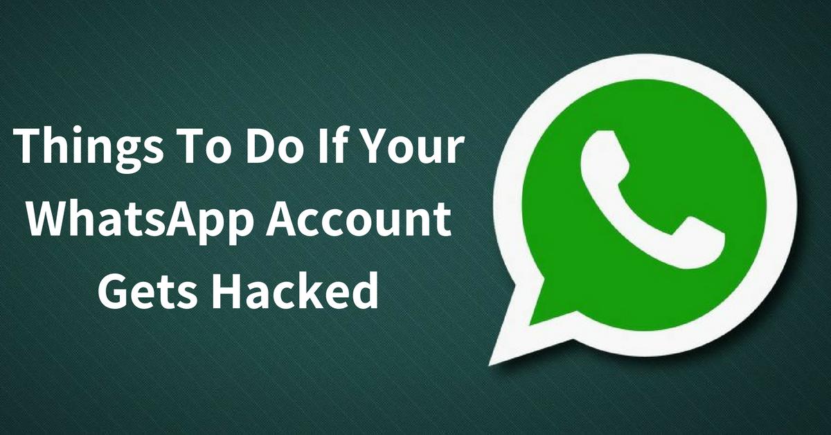WhatsApp Has Been Hacked