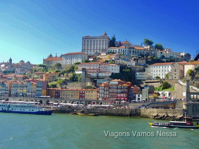 Rio Douro, Cais da Ribeira e as famosas casas coloridas