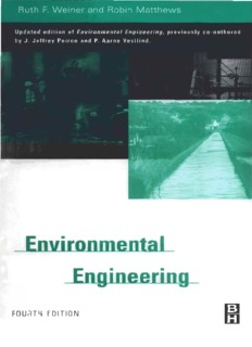 Environmental Engineering FOURTH EDITION by Davis, Mackenzie, Cornwell
