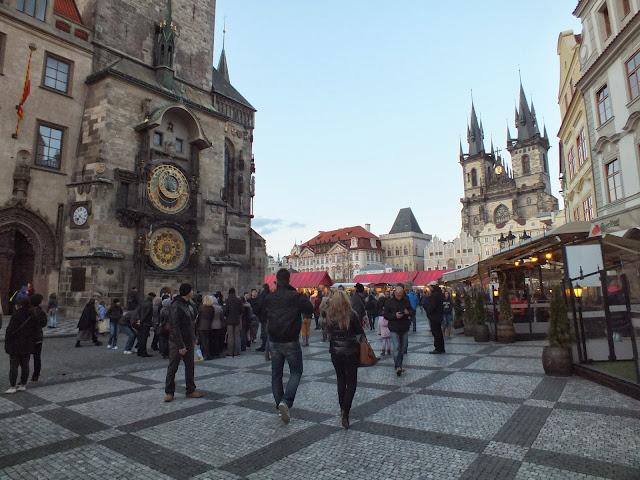 Diario de un viaje a Praga