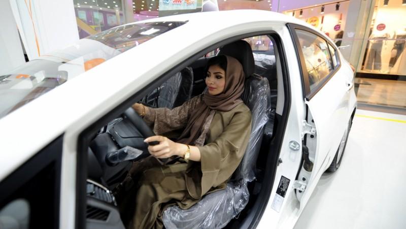Showroom mobil wanita pertama di Arab Saudi