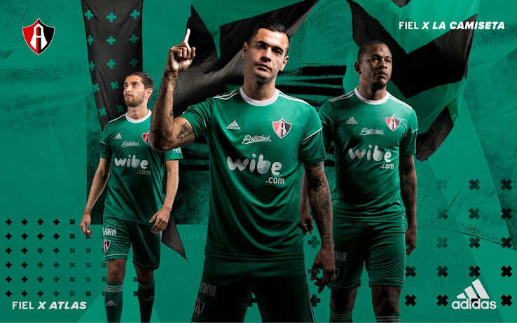 c968012f813 Liga MX club Atlas and their jersey supplier Adidas yesterday launched the  club's new third jersey. It is the first Adidas third kit for Club Atlas  after ...