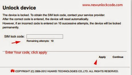 Unlock UK Three Huawei E5573 4G Mobile Wi-Fi - Unlock code