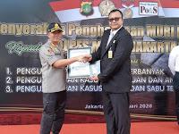 Mantul! Kapolres Metro Jakarta Selatan Borong Penghargaan