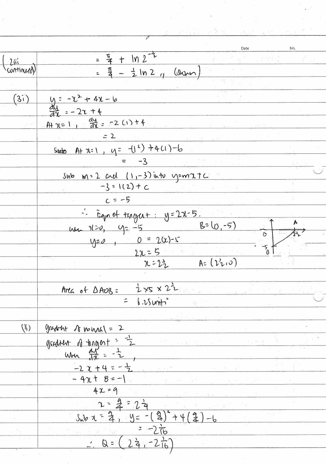 o level additional mathematics past exam papers
