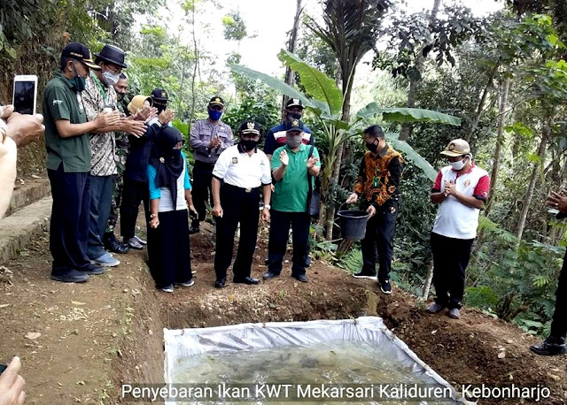 Foto-foto Acara Pencanangan Gempar KWT Tingkat Kabupaten Kulon Progo