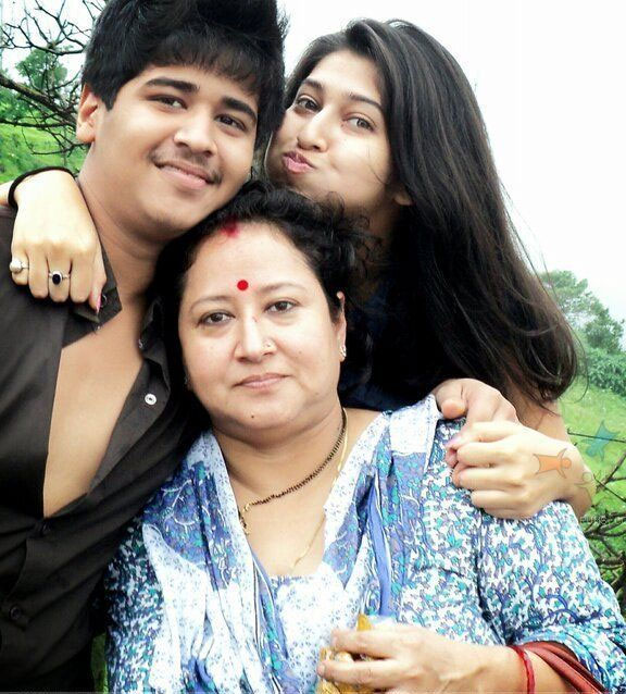Sonarika Bhadoria Mother  Brother