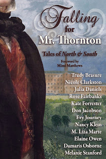 Book cover: Falling for Mr Thornton anthology