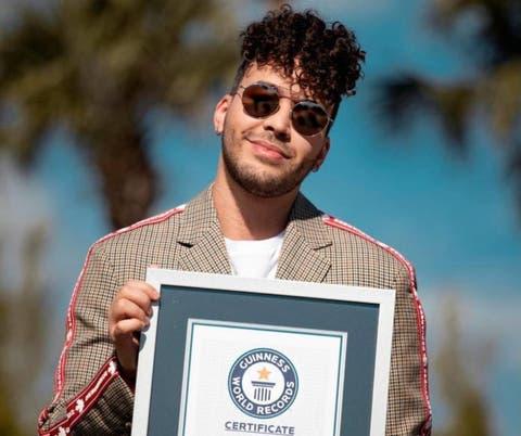 """Prince Royce: Jamás imaginé que podría recibir un récord Guinness por """"Carita de inocente"""""""