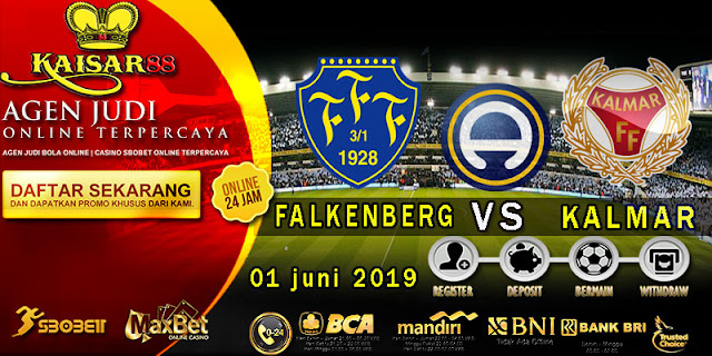 Prediksi Bola Terpercaya Liga Sweden Falkenberg vs Kalmar 1 Juni 2019