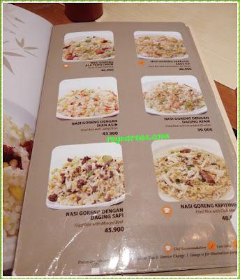 imperial kitchen menu nasi goreng