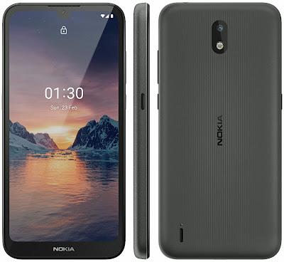 صورة مسربة لـ Nokia 1.3 بشاشة قطرة الماء