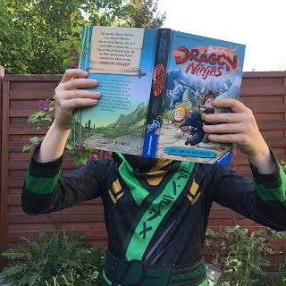 Dragon Ninjas - Der Drache der Berge Autor: Michael Petrowitz Illustrationen: Marek Bláha Verlag: Ravensburger, Buchvorstellung auf Kinderbuchblog Familienbuecherei