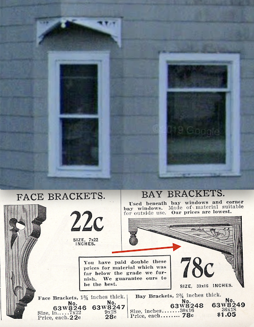 catalog image of bay brackets against Sears Avoca at 44 Colchester Avenue, East Hampton, Connecticut