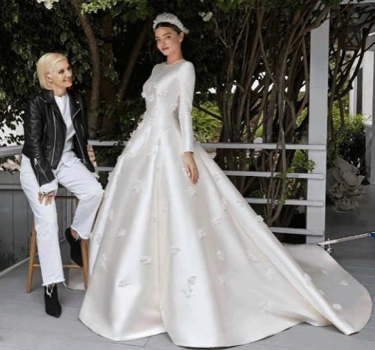 Robe mariage dior