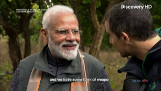 Download Man Vs Wild with Bear Grylls and PM Modi Full Show In Hindi 720p HDTV ESUB | MoviesBaba 1