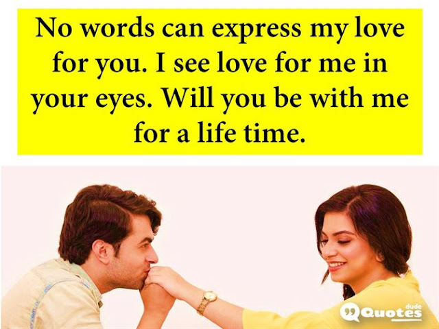 happy propose day my love quotes